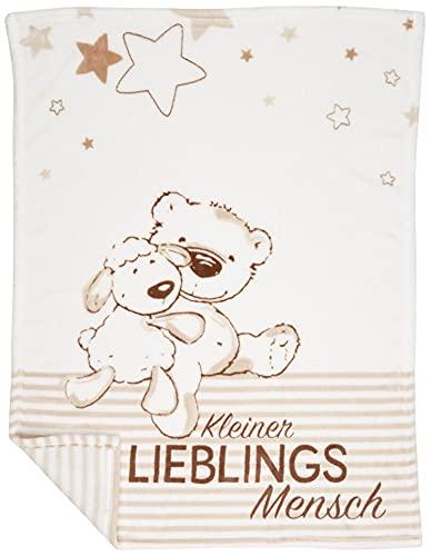 Herding Fynn Babydecke, Lieblingsmensch Motiv, 75...