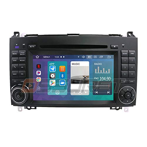 Android 10 Auto GPS Navigation Bluetooth 2 Din...