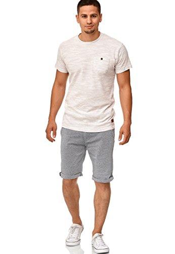 Indicode Herren Cuba Chino Shorts mit 5 Taschen...