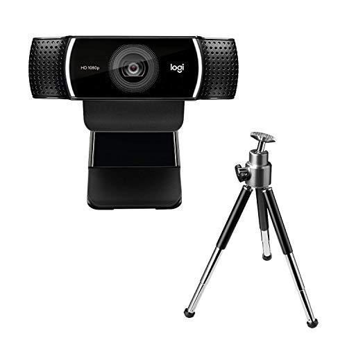 Logitech C922 PRO Webcam mit Stativ, Full-HD...