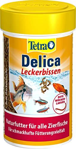 TetraDelica Bloodworms, Naturfutter für...