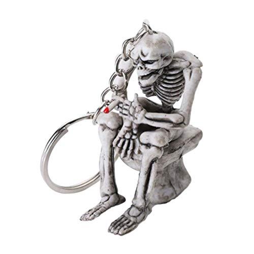 Generic Halloween Schädel Skeleton Keychain...