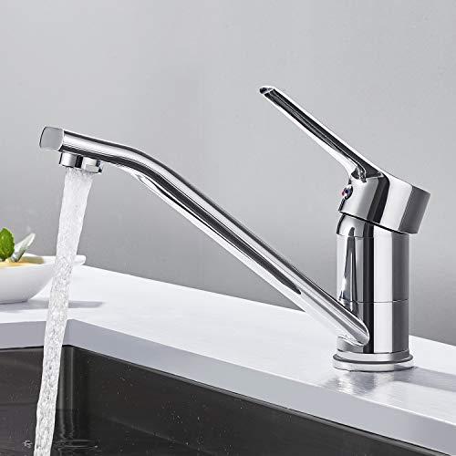 Wasserhahn Küche Hochdruck, WOOHSE Mischbatterie...