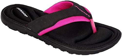 Dunlop Damen-Flip-Flops aus Gedächtnisschaum,...