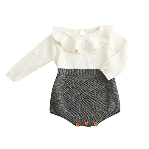 MEIbax Kinder Mädchen Baby Gestrickte Pullover...