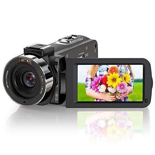 ZORNIK Camcorder, IR Night Vision Video Camera HD...