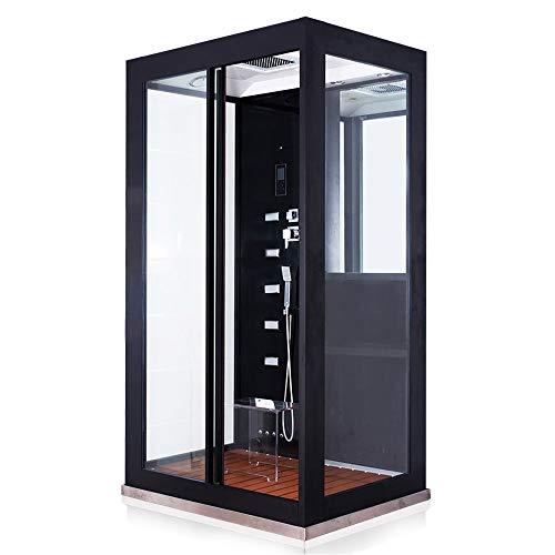 Home Deluxe - Dampfdusche - Black Luxory XL -...