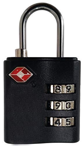 VAUDE Schloss TSA Combination Lock, silver/black,...
