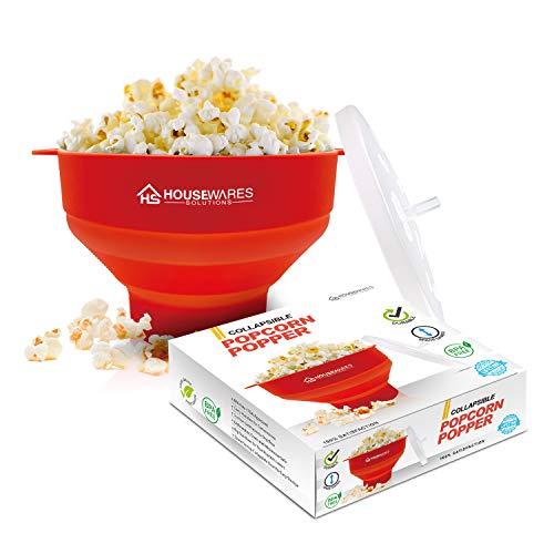 Popcornschüssel aus Silikon, zusammenklappbar,...