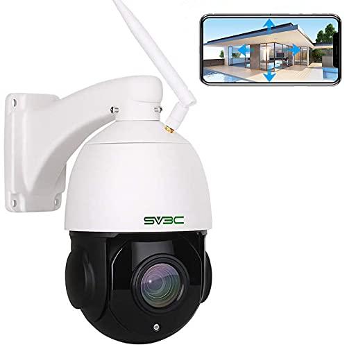 SV3C 5MP PTZ Überwachungskamera Aussen, 20x Fach...