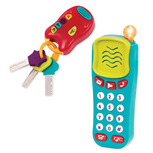 Battat BT2629Z – Spielzeug Schlüssel und Handy...