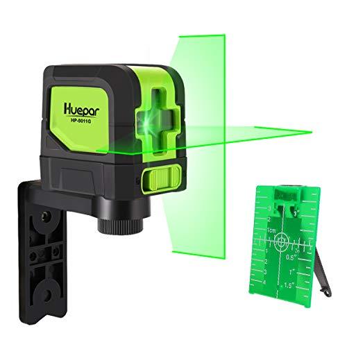 Huepar Kreuzlinienlaser Grün, DIY Linien Laser...