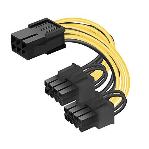 OUK-BT 6-Pin PCIe auf Dual 8-Pin PCIe Stromkabel...