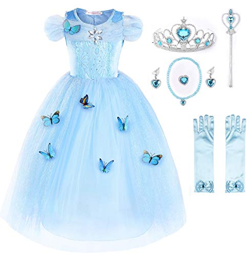 JerrisApparel Aschenputtel Kleid Prinzessin...