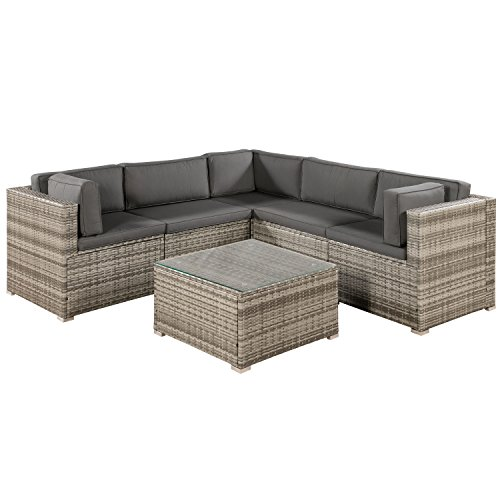 ArtLife Polyrattan Lounge Sitzgruppe Nassau...