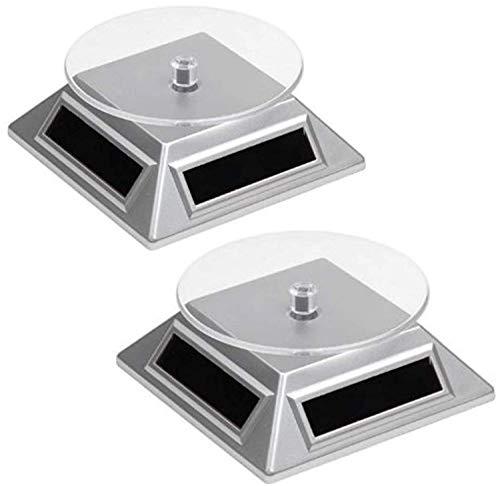2 Solar Drehteller Drehscheibe für Vitrine |...
