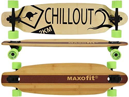 MAXOfit® Deluxe Cruiser Longboard   Komplettboard...