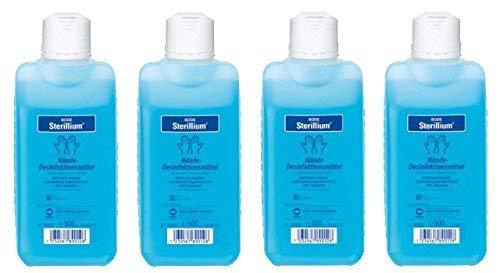 Sterillium Hände-Desinfektionsmittel | 4 x 500 ml...