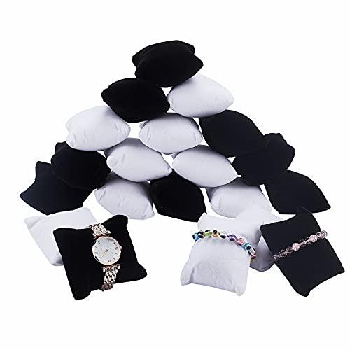 PandaHall 20pcs Armband/Uhr Kissen Schmuck...