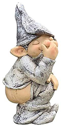 WQQLQX Statue Garten Goblin Poop Statue Garten...