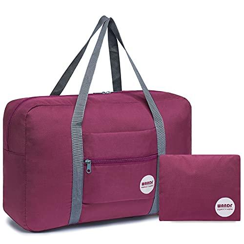 WANDF Leichter Faltbare Reise-Gepäck Handgepäck...