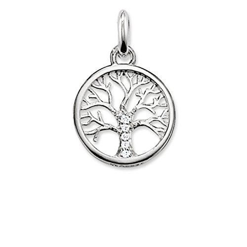 THOMAS SABO Damen Kettenanhänger Lebensbaum Tree...