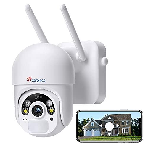 Überwachungskamera Aussen 14400mAh Akku, Ctronics...