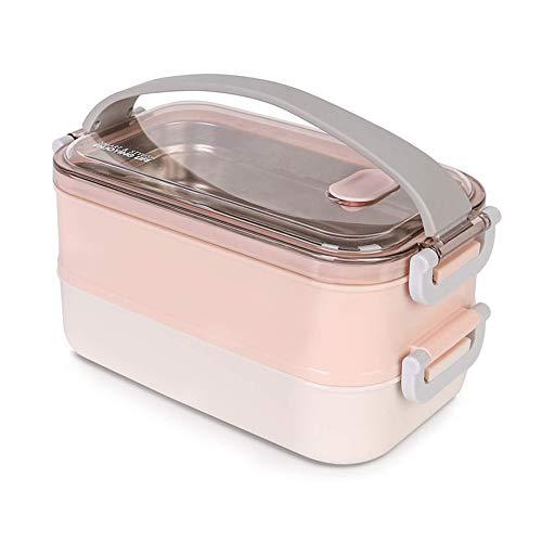 Lunchbox - Brotdose mit Fächern Praktische Bento...