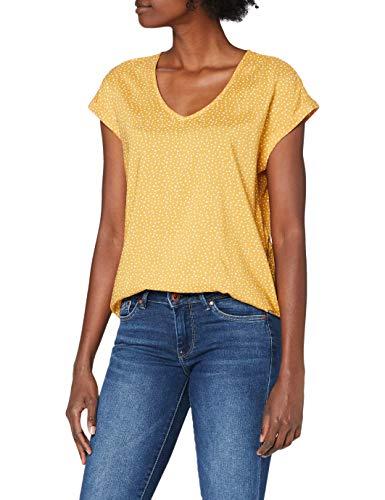 TOM TAILOR Denim Damen Sporty Bluse, 24322-yellow...