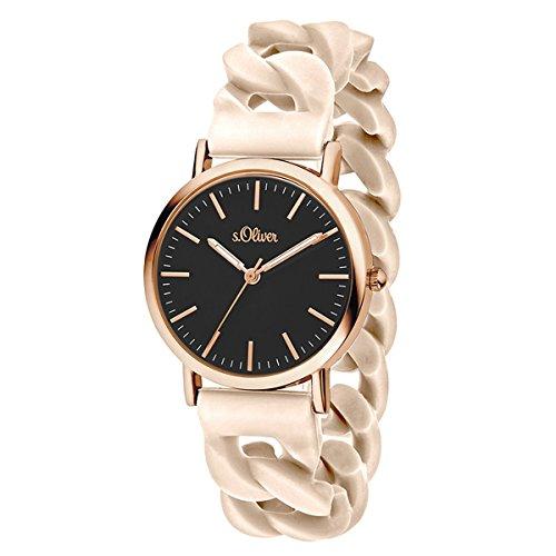 s.Oliver Time Unisex Erwachsene-Armbanduhr...