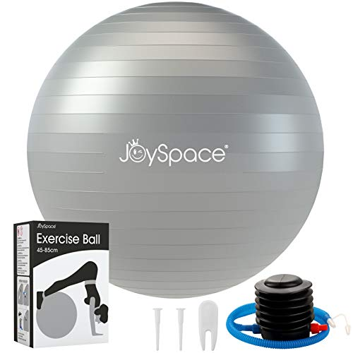 JOYSPACE Gymnastikball 75cm Sitzball Extra Dicker...