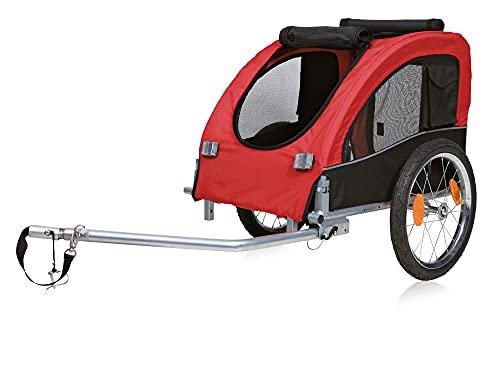 Trixie 12814 Fahrrad-Anhänger, M: 63 × 68 ×...