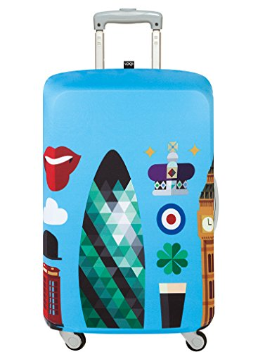 LOQI HEY STUDIO London Luggage Cover -...