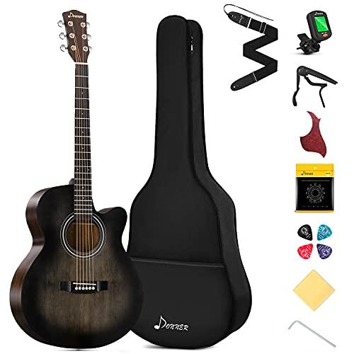 Donner Gitarre Akustik Anfänger Akustikgitarre...