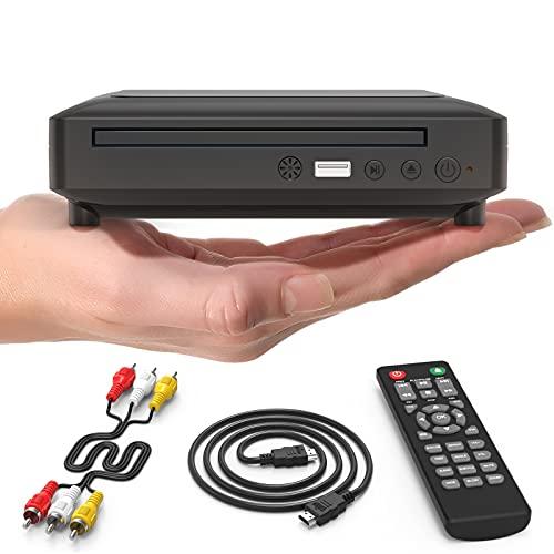 Ceihoit DVD-Player für TV Mini HD DVD CD Player...