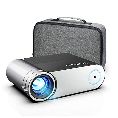 Beamer, Vamvo Mini Beamer, Projektor 1280*720P mit...