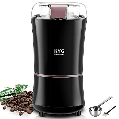 KYG Kaffeemühle 300W Elektrische Kaffeemühle...