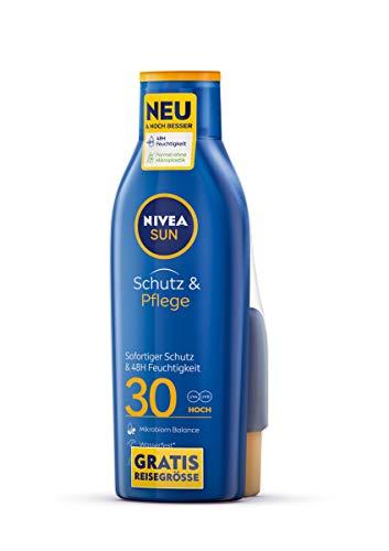 NIVEA SUN Schutz & Pflege Sonnenmilch LSF 30 +...