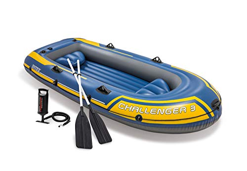 Intex Challenger 3 Set Schlauchboot - 295 x 137 x...