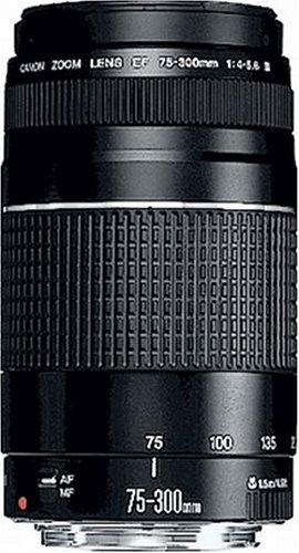 Canon Teleobjektiv EF 75-300mm F4.0-5.6 III für...