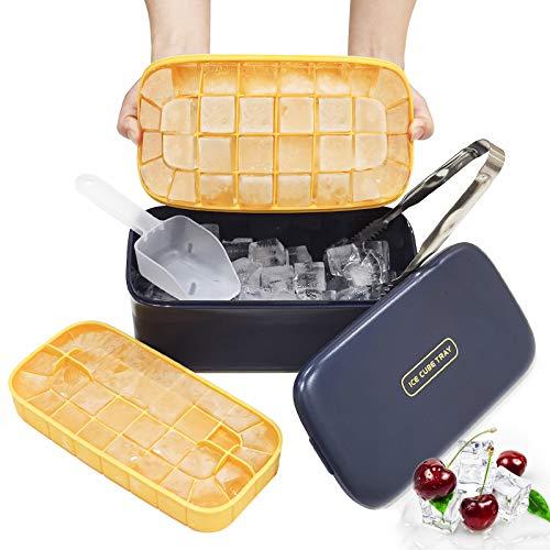 Baozun Eiswürfelform Eiswürfelbehälter mit...