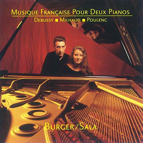 Musique Francaise Pour Deux Pianos - Debussy -...