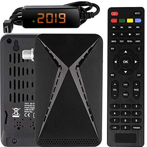 Echosat OM-26100 Mini Sat Receiver -DVB S/S2...