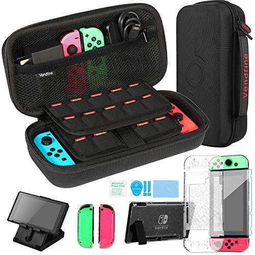 Vendfine Tasche für Nintendo Switch, 4-in-1...