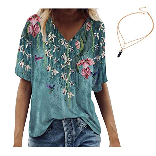 T-Shirts Damen Blusen Tops Sweatshirt...