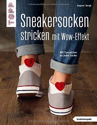 Sneakersocken stricken mit Wow-Effekt...