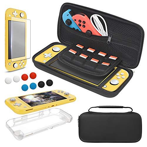 Tragetasche für Nintendo Switch Lite, 4 in 1...