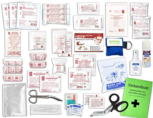 Komplett-Set Erste-Hilfe DIN 13157 EN 13 157 PLUS...