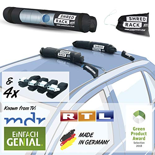 SHRED RACK Mini - Universal Dachgepäckträger...