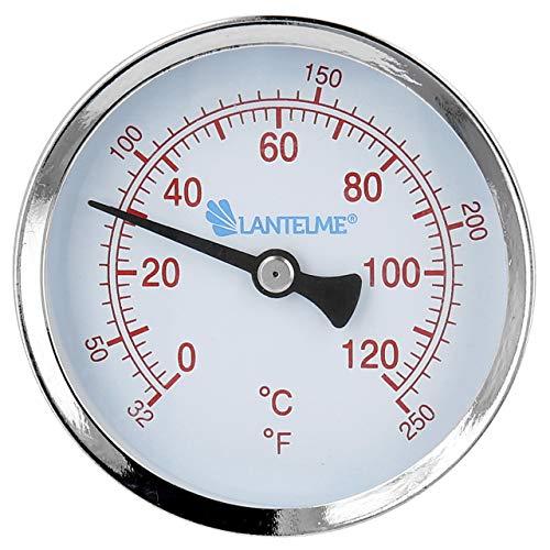 Lantelme Thermometer für Heizung mit Gewinde...